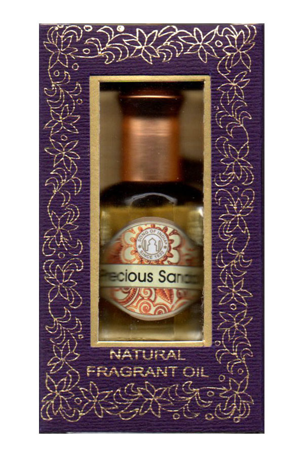 Song of India Perfume Oil - PRECIOUS SANDAL - 10ml