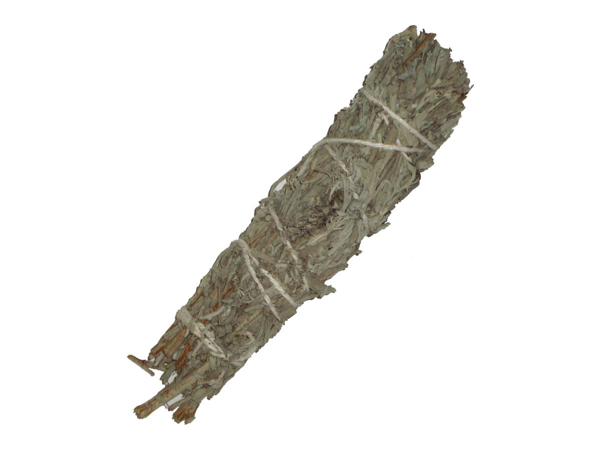 MOUNTAIN SAGE and PALO SANTO Wood Powder Smudge Stick - MINI