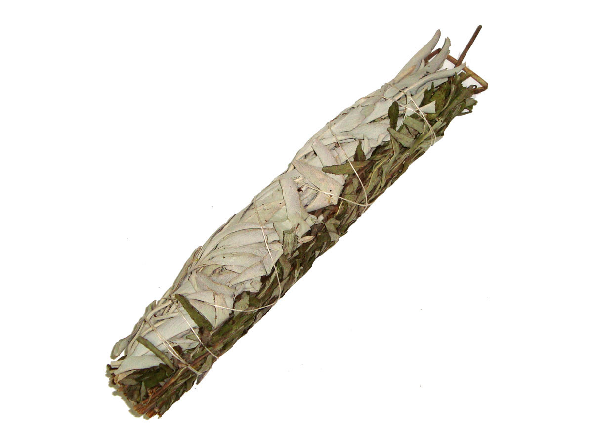 WHITE SAGE & LAVENDER Smudge Stick - LARGE