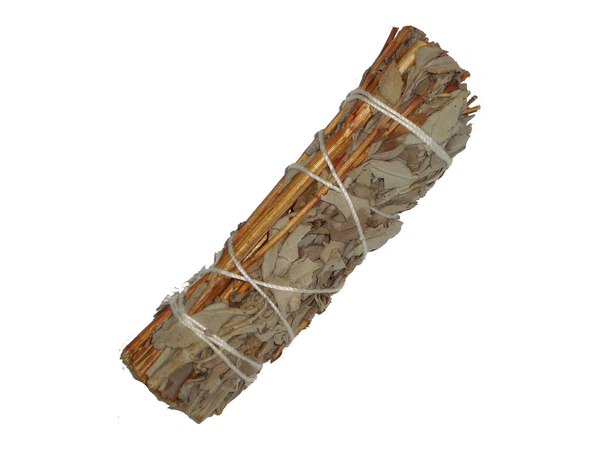 WHITE SAGE & LAVENDER Smudge Stick - MINI