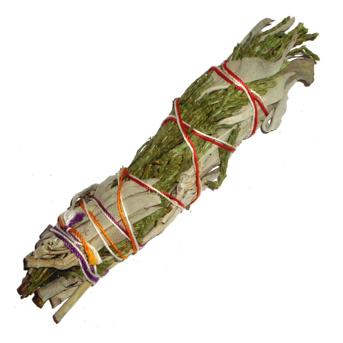 WHITE SAGE & CEDAR Smudge Stick USA - MINI