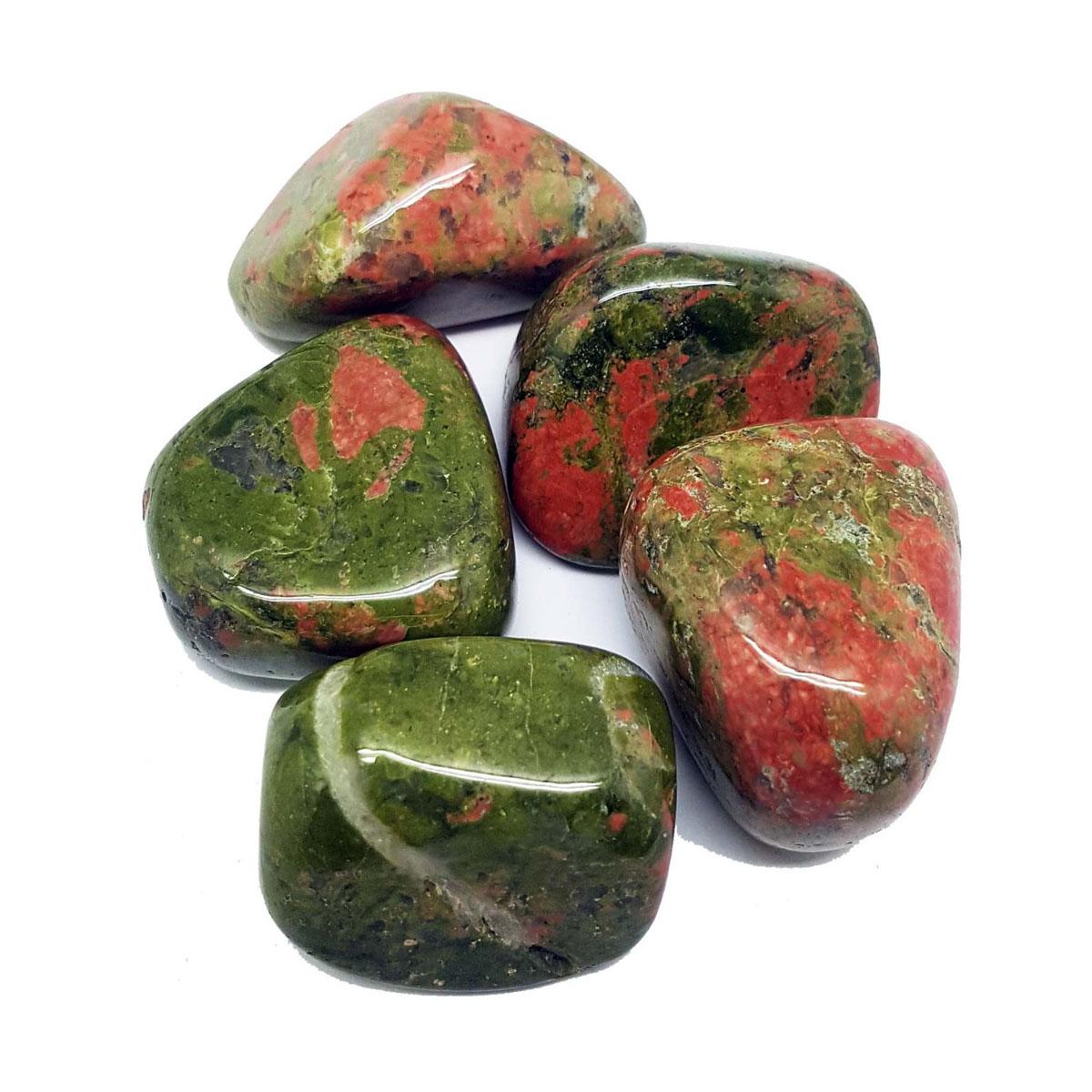 Tumbled Stones - UNAKITE