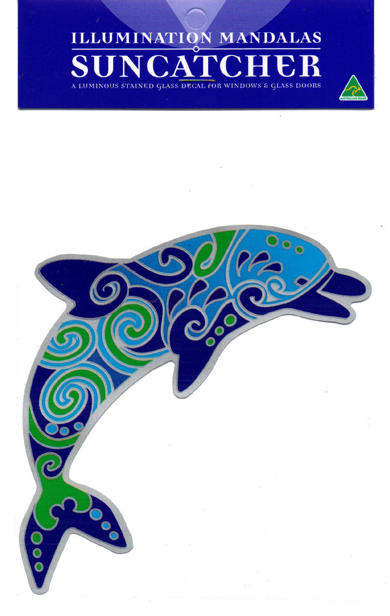 Decal / Window Sticker - Suncatcher DOLPHIN