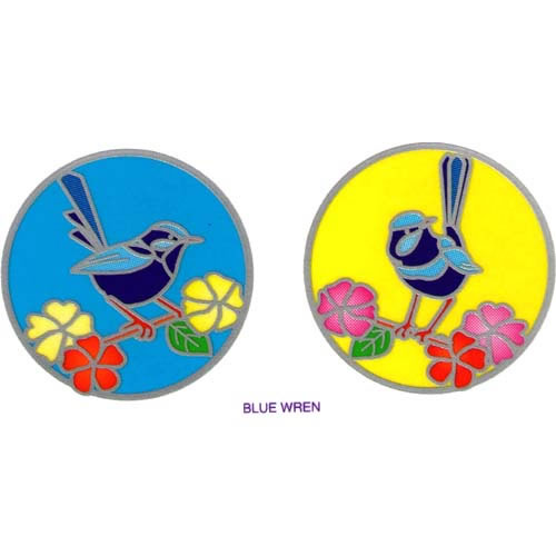 Decal / Window Sticker - Sunlight BLUE WREN