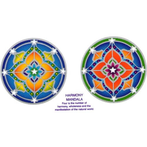 Decal / Window Sticker - Sunlight HARMONY MANDALA