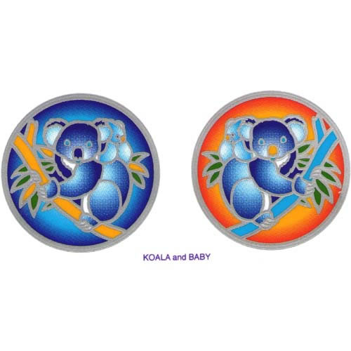 Decal / Window Sticker - Sunlight KOALA and BABY
