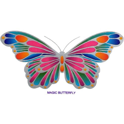 Decal / Window Sticker - Sunlight MAGIC BUTTERFLY