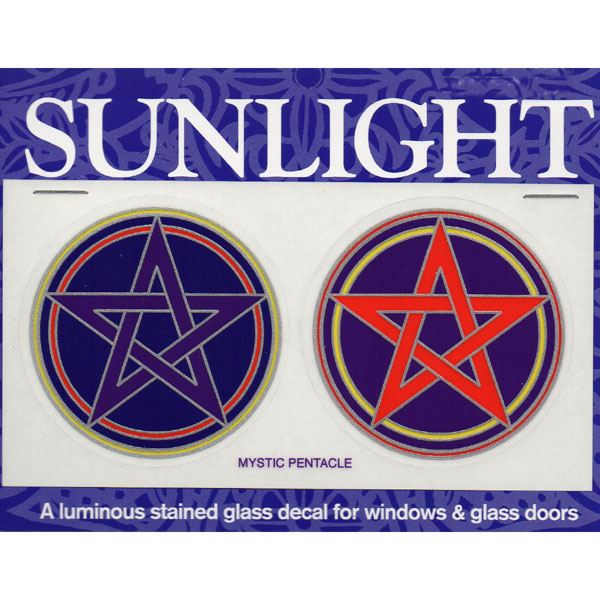 Decal / Window Sticker - Sunlight MYSTIC PENTACLE