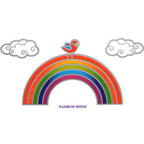 Decal / Window Sticker - Sunlight RAINBOW BIRDIE