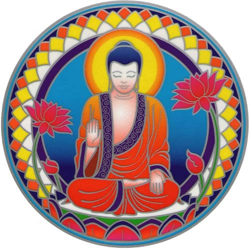 Decal / Window Sticker - Sunseal BUDDHA NATURE
