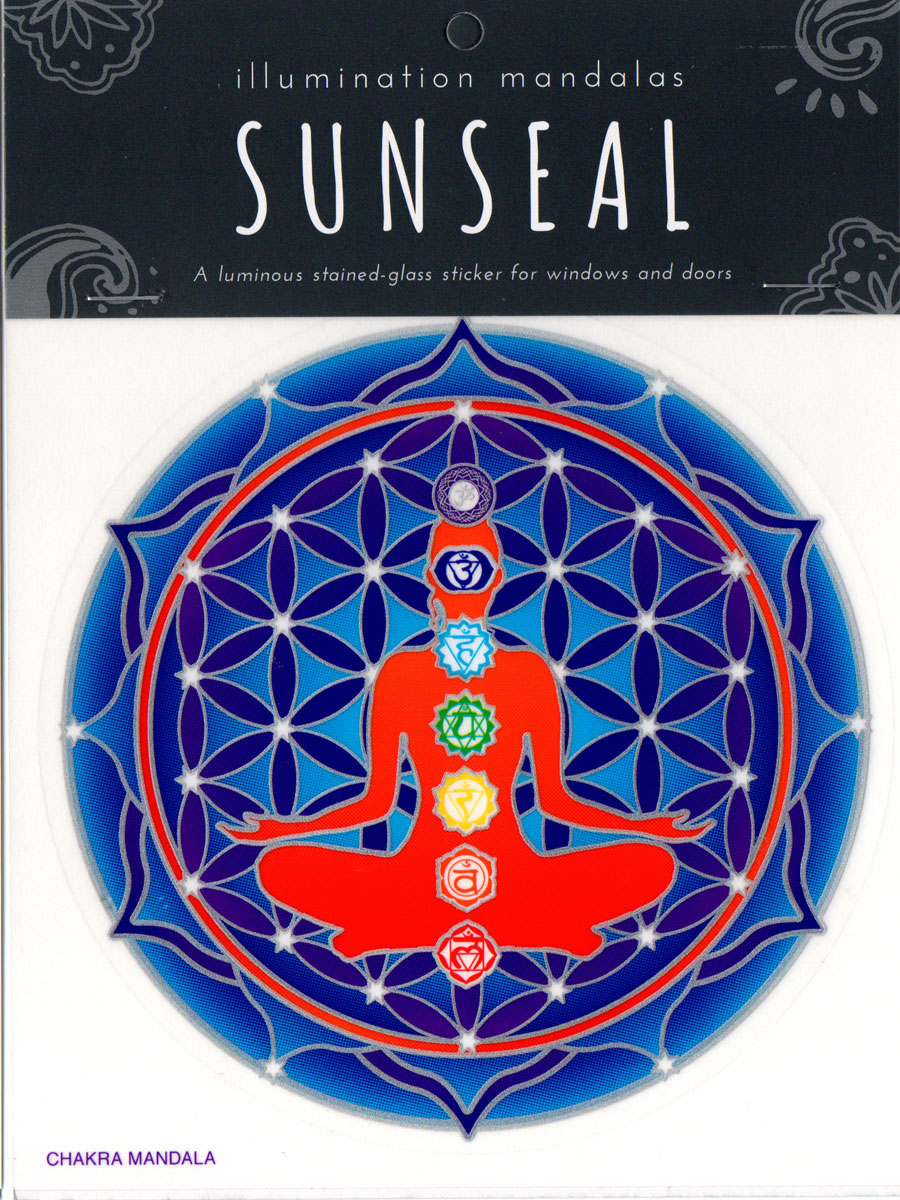 Decal / Window Sticker - Sunseal CHAKRA MANDALA