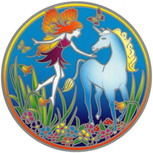Decal / Window Sticker - Sunseal MAGIC UNICORN