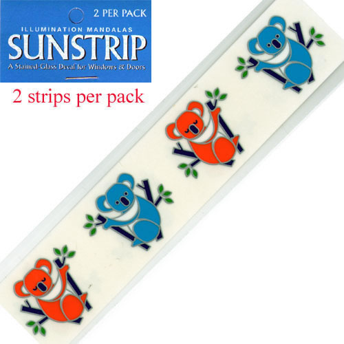Decal / Window Sticker - Sunstrips KOALAS
