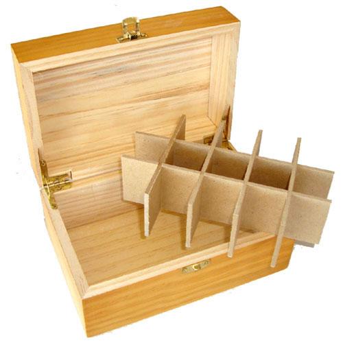 ... Timber Essential Oil Storage Box - 15 Slot  sc 1 st  Magic Essence & Timber Essential Oil Storage Box - 15 Slot   MagicEssence.com.au ...