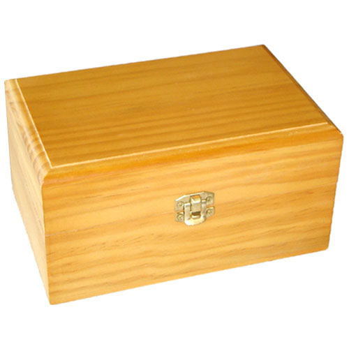 Timber Essential Oil Storage Box   15 Slot