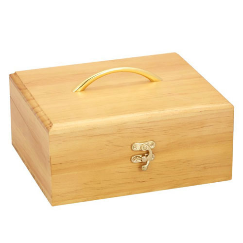 Timber Essential Oil Storage Box - 30 Slot