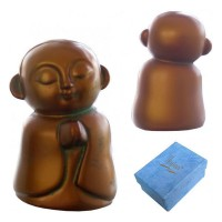 Jizo Praying - Bronze