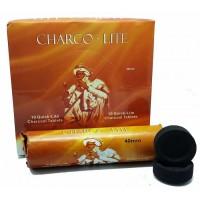 Charco Lite Charcoal Tablets/Blocks/Discs - 40mm