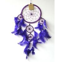 Medium DREAM CATCHER - Purple