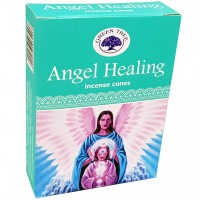 Green Tree Incense Cones - ANGEL HEALING