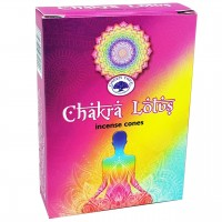 Green Tree Incense Cones - CHAKRA LOTUS