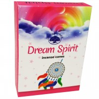 Green Tree Incense Cones - DREAM SPIRIT