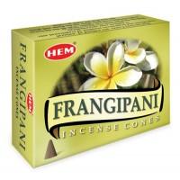 Hem Incense Cones - FRANGIPANI