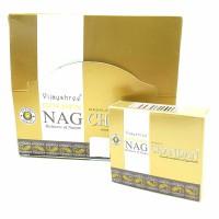 Golden NAG CHANDAN Incense Cones