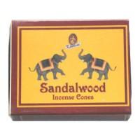 Kamini Incense Cones - SANDALWOOD