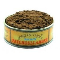 Song of India Resin - PATCHOULI AMBER