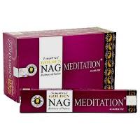 Golden NAG MEDITATION Incense