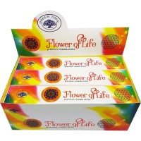 Green Tree Incense Sticks - FLOWER OF LIFE