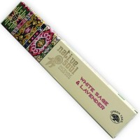 Green Tree NATIVE SOUL Incense - WHITE SAGE & LAVENDER