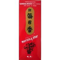 Morning Star Incense - SANDALWOOD - 200 Sticks