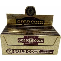 Nandita Incense Sticks - GOLD COIN Organic