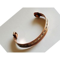 Copper Bangle Magnetic Bracelet #4