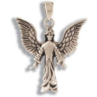 Bronze Pendant - ANGEL #001