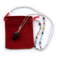 Crystal Pendulum - AMETHYST Necklace