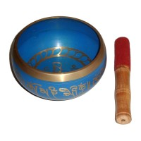Singing Bowl Brass - AQUA
