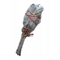 WHITE SAGE Smudge Stick USA - MINI (Torch Style)