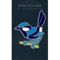 Decal / Window Sticker - Suncatcher BLUE WREN