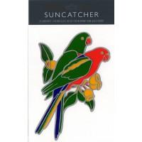 Decal / Window Sticker - Suncatcher KING PARROTS