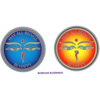 Decal / Window Sticker - Sunlight BUDDHA BLESSINGS