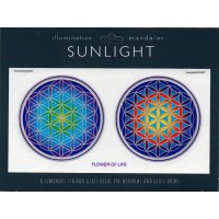 Decal / Window Sticker - Sunlight FLOWER of LIFE