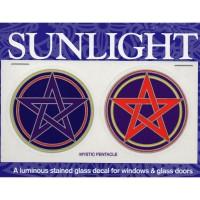 Decal / Window Sticker - Sunlight MYSTIC PENTACLE