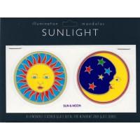 Decal / Window Sticker - Sunlight SUN & MOON