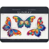 Decal / Window Sticker - Sunray MAGIC BUTTERFLIES