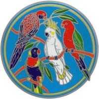 Decal / Window Sticker - Sunseal AUSTRALIAN NATIVE BIRDS