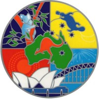 Decal / Window Sticker - Sunseal AUSTRALIANA