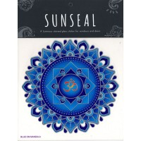 Decal / Window Sticker - Sunseal BLUE OM